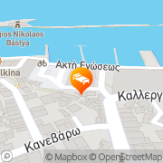Map Kasteli Studios Chania, Greece