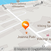 Map Ranna Villa Pärnu, Estonia