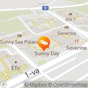 Map Sunny Day Club Hotel Sunny Beach, Bulgaria