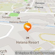 Map Royal Palace Helena Sands Sunny Beach, Bulgaria