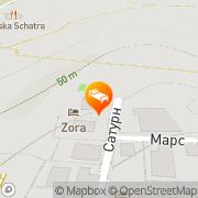 Map Hotel Zora Sunny Beach, Bulgaria
