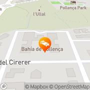 Map Aparthotel Bahia Pollensa Port de Pollença, Spain