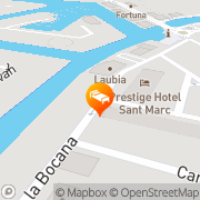 Map Prestige Sant Marc Roses, Spain