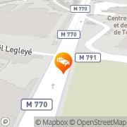 Map Lemon Hotel - Tourcoing Tourcoing, France