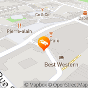 Map Best Western Plus Hotel Alize Mouscron, Belgium