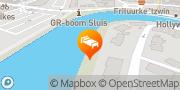 Kaart Rivers Sluis, Nederland