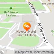 Map Novotel Cairo El Borg Cairo, Egypt