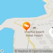Map Vrachia Resort Paphos, Cyprus