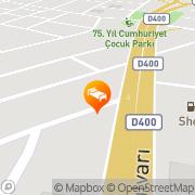 Map Buyuk Yalcin Hotel Mersin, Turkey