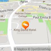 Map King David Hotel Jerusalem Jerusalem, Israel