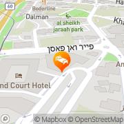 Map Leonardo Hotel Jerusalem Jerusalem, Israel