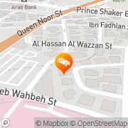 Map Canyon Boutique Hotel Amman, Jordan