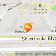 Map Гостиница Атлас Donetsk, Ukraine