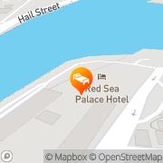 Map Red Sea Palace Jeddah, Saudi Arabia