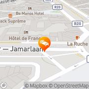 Map Agenda Midi Hotel Brussels, Belgium