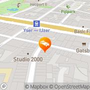 Map Brussels@Heart Brussels, Belgium