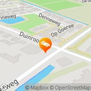 Kaart Zwaantje Hotel Pension 't Callantsoog, Nederland