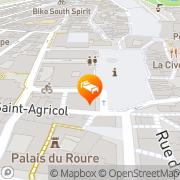 Carte de Hotel de l'Horloge Avignon, France
