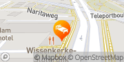 Kaart Mercure Hotel Amsterdam Sloterdijk Station Amsterdam, Nederland