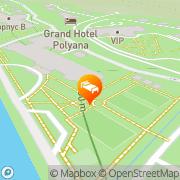 Map Grand Hotel Polyana Sochi, Russia