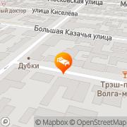 Map Bogemia Business Hotel Saratov, Russia