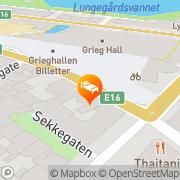 Map Citybox Bergen, Norway