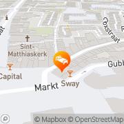 Kaart Matuchi Oriental Style Hotel Restaurant Maastricht, Nederland