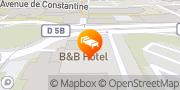 Carte de B&B HOTEL Grenoble, France