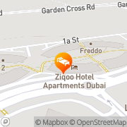 Map ZiQoo Hotel Apartment Dubai Dubai, United Arab Emirates