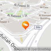 Map Crystal Living Courts Dubai, United Arab Emirates
