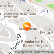Map Ramee Guestline Hotel Apartment 3 Dubai, United Arab Emirates