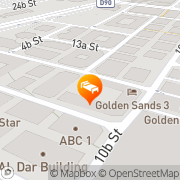 Map Golden Sands Hotel Apartments Dubai, United Arab Emirates