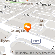 Map Metropolitan Palace Dubai Dubai, United Arab Emirates