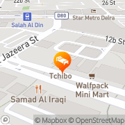 Map Dream Palace Hotel Dubai, United Arab Emirates