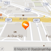 Map Al Diar Siji Hotel Fujairah, United Arab Emirates