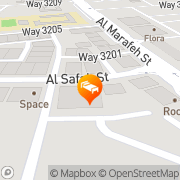 Map Al Maha International Hotel Muscat, Oman