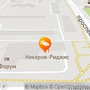 Map Forum Hotel Magnitogorsk, Russia