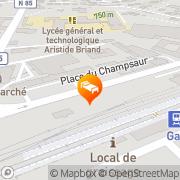 Carte de Gîtes de France Gap, France