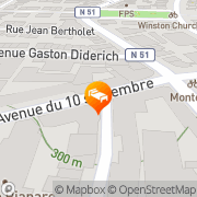 Map Hotel Albert Premier Luxembourg, Luxembourg