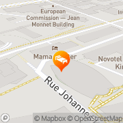 Map Sofitel Luxembourg Europe Luxembourg, Luxembourg
