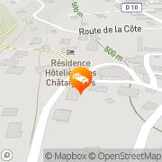 Carte de Logis Hotel Residence Spa les Chataigniers Saint-Jorioz, France