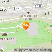 Map Eden au Lac Echternach, Luxembourg