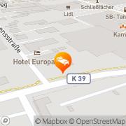 Karte Hotel Europarc Kerpen, Deutschland