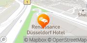 Karte Renaissance Duesseldorf Hotel Düsseldorf, Deutschland