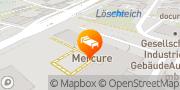 Karte Mercure Hotel Saarbrücken Süd Saarbrücken, Deutschland