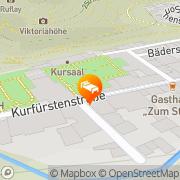 Karte Kurhotel Fürstenhof Bad Bertrich, Deutschland