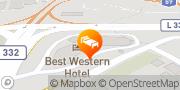 Karte Best Western Hotel Cologne Airport Troisdorf Troisdorf, Deutschland