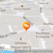Karte Arcade Wuppertal, Deutschland