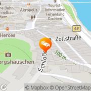Karte Gästehaus Albers Cochem, Deutschland