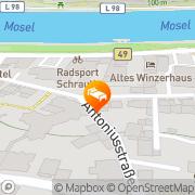 Karte Haus von Hoegen Cochem, Deutschland